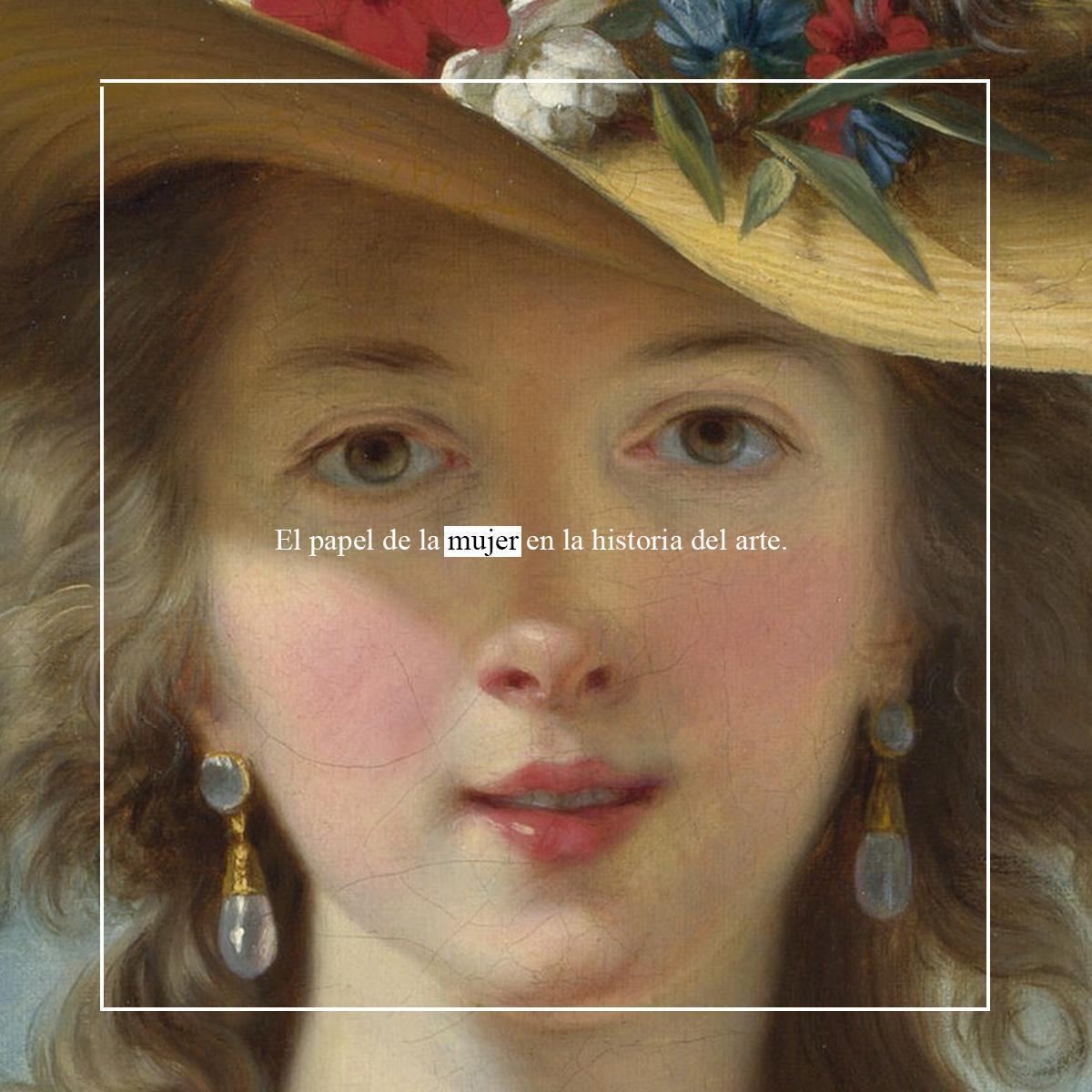 historia de la mujer en el arte