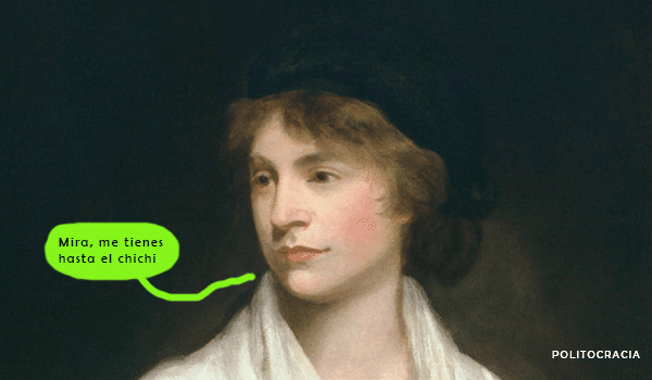 ilustración de Mary Wollstonecraft