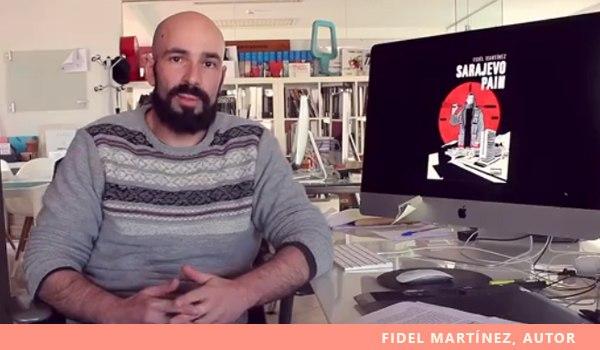 Fidel Martínez, autor Sarajevo Pain
